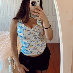 American Eagle Floral Tank Soft & Sexy